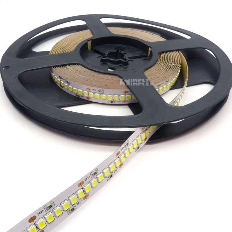 Led Strip 24VDC SMD2835-1200 Led Indoor SuperBright - Cool White