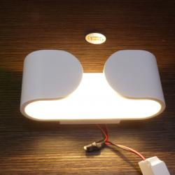 Lampu Dinding Wall Led 6W model