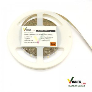 Vinder Led Strip 24VDC SMD5730-300 Led Indoor SuperBright - Quality Series