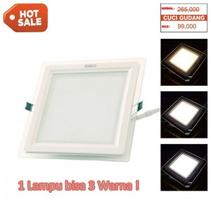 Downlight Panel 18W 3in1 Color Square - HoT Sale