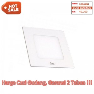 Hiled Panel Slim Downlight 6W Square - Hot Sale!!
