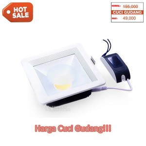 Generic Downlight COB 12W - Square