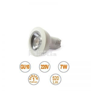 Hiled Spotlight 7W GU10 AC220V NonDimmable - Value Series