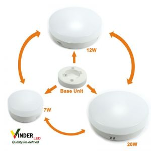 Vinder Panel Outbow Light 7 Watt Ezy Change Series