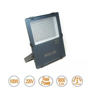 Lampu Led Floodlight 100W merek Piyo - Value Series