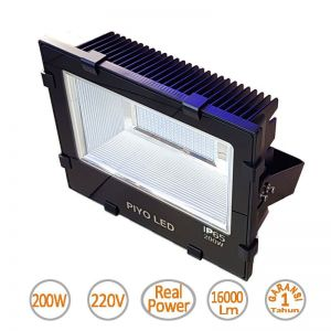 Lampu Led Floodlight 200W merek Piyo - Value Series
