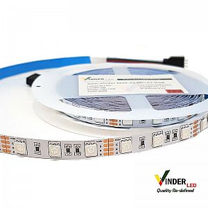 Vinder Led Strip RGB SMD5050 Changing Colors
