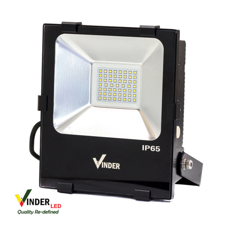 Vinder Led Floodlight 50W - Slim Series
