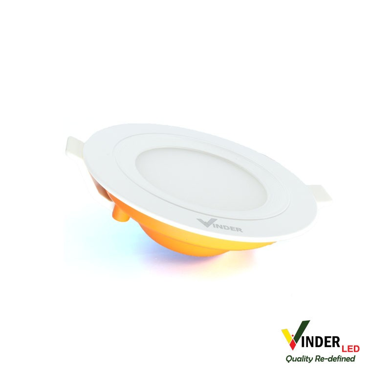 Vinder Slim Downlight Panel 3W Round