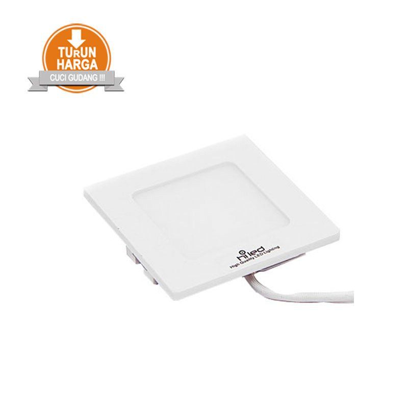 Hiled Panel Slim Downlight 3W Square