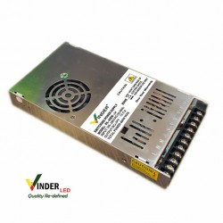 Vinder Switching Power Supply 24V DC 16.7A 400W Slim - High Quality