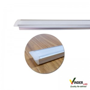 Housing Led Strip/ Led Bar model inbouw with doff cover