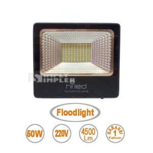 Lampu Led Floodlight 50W merek Hiled - Value Series