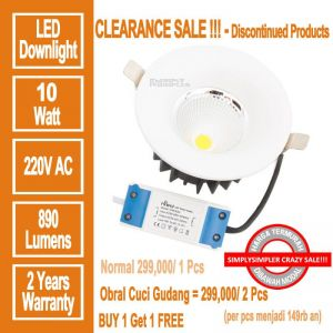 HILED DownLight COB 10W - PROMO BUY 1 GET 2