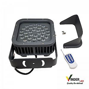 Vinder RGB Spot Light 36W with RF Remote